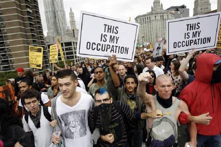 拡大する「反ウォール街」デモ